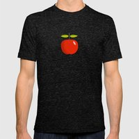 Apple 28 Mens Fitted Tee Tri-Black SMALL