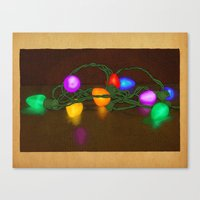 All Lit Up Canvas Print
