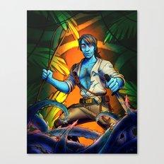 Forest Warrior Baezil Canvas Print