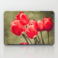 Red tulips  iPad Case
