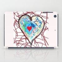 Scribble Heart iPad Case