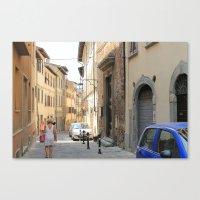 Italian Street 2 Canvas Print