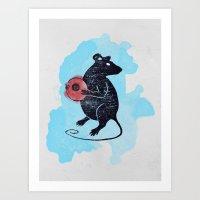 Curiosity Art Print