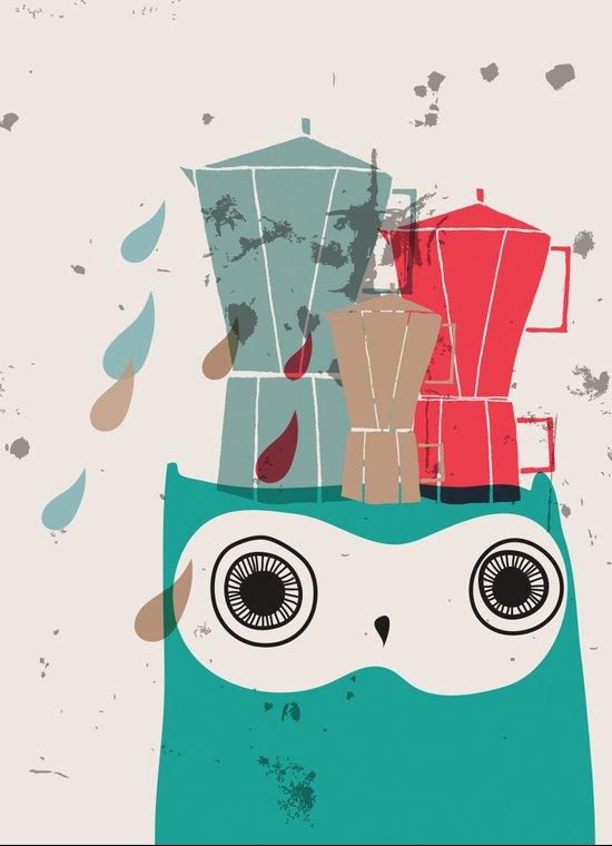 Owl Aloud Art Print