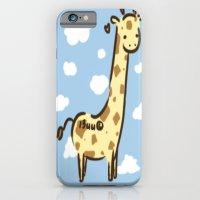 iPhone & iPod Case featuring Girafffeee by I3uu