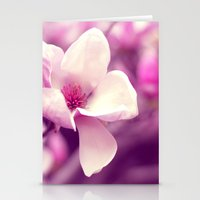 Lonely Flower - Radiant … Stationery Cards