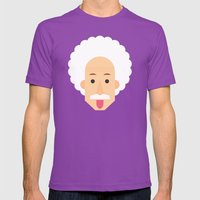 Crazy Mens Fitted Tee Ultraviolet SMALL