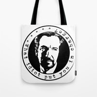 What idiot put you in charge? Tote Bag