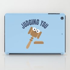 Held In Contempt iPad Case