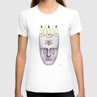 skulls T-shirts featuring Skulls by Lou Patrou