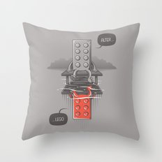 Alter LEGO Throw Pillow