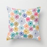 c13 pattern series 009 Throw Pillow