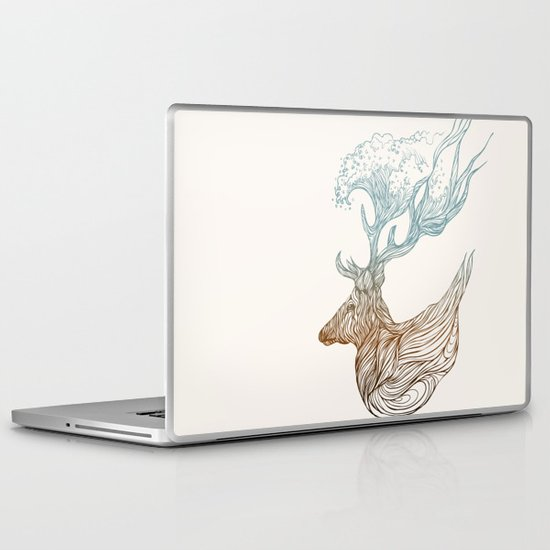 To The Ocean Laptop & iPad Skin