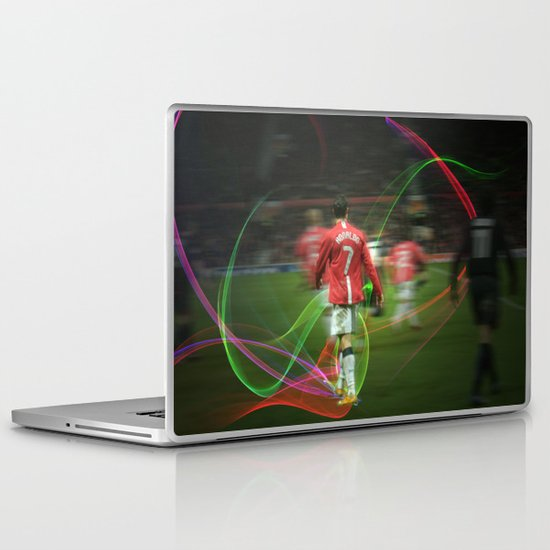 Ronaldo Remix Laptop & iPad Skin
