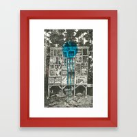 Shot Down Framed Art Print