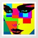 Colorblocks Art Print