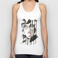 the Ghost Unisex Tank Top