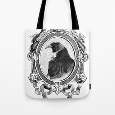 Old Black Crow Tote Bag