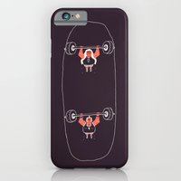 iPhone & iPod Case featuring Heavyweight Skateboarding by Jacques Maes