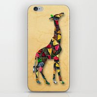 Animal Mosaic - The Gira… iPhone & iPod Skin