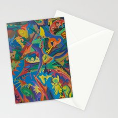 Crazy Dreams of Colour  Stationery Cards