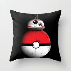 PokeBB Throw Pillow