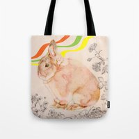 Dedicated to all those bunnies out there Tote Bag