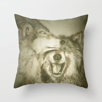Together We Wander Throw Pillow