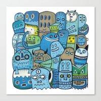 Quai n°12 Canvas Print
