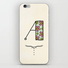 A a iPhone & iPod Skin