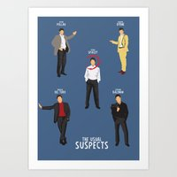 The Usual Suspects - Alt… Art Print
