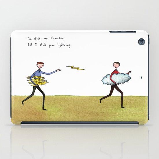 you stole my thunder iPad Case