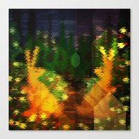Eclectic Spring Fever Canvas Print