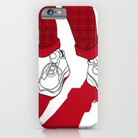 Rainbow Gossip - Red iPhone 6 Slim Case