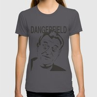Rodney Dangerfield Womens Fitted Tee Asphalt SMALL
