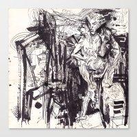 Him & She Canvas Print