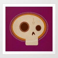 day of death / día de los muertos Art Print