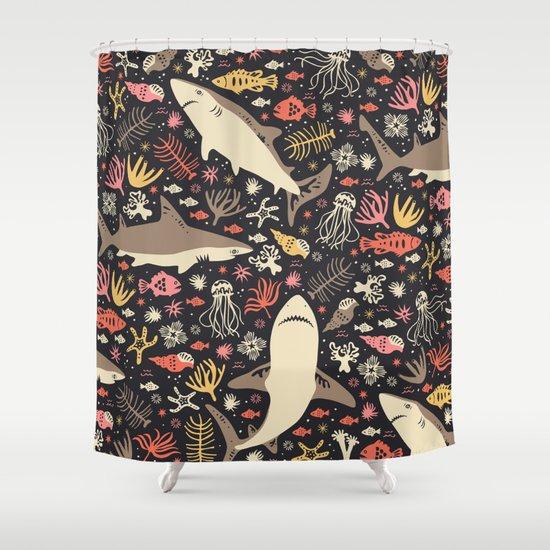 Oceanica Shower Curtain