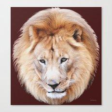 Lion Sphere Canvas Print