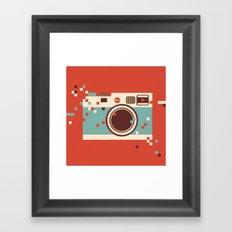 Glitch - Part II Framed Art Print