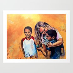 But the Greatest of These is Love Art Print
