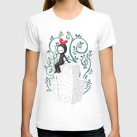 Marshmallow Womens Fitted Tee White SMALL