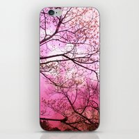Surreal Pink Trees Nature  iPhone & iPod Skin
