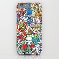 iPhone & iPod Case featuring Kampu Kids by KILLAMARI