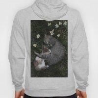 Sleep [A CAT AND A KITTE… Hoody