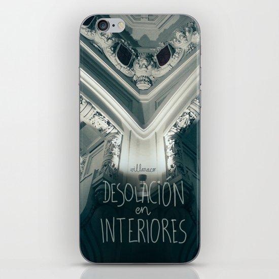 Desolación en interiores iPhone & iPod Skin