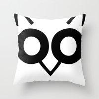 Hoot Hoot Throw Pillow
