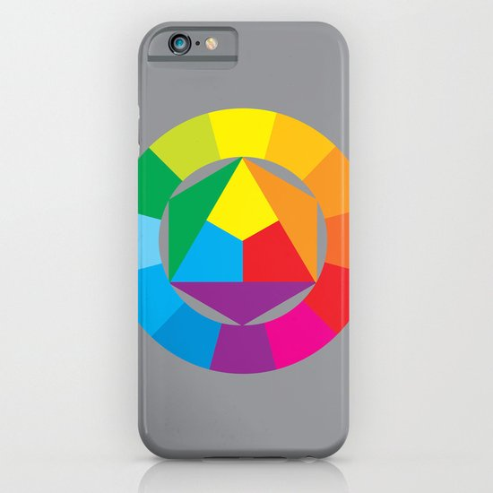 color wheel iPhone & iPod Case
