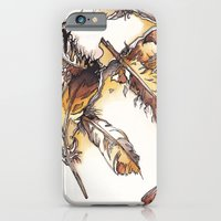 Chipewyan Feathers iPhone 6 Slim Case