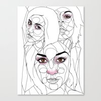 The Guns Of Love Disastr… Canvas Print